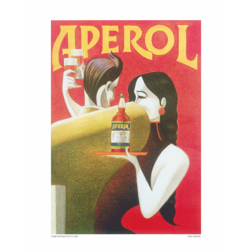 Campari Aperol manifesto: Legendary Products Legend19 Promemoria