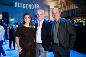 Legend19 The The People 8 Giugno Federico Buffa, Giuseppe Lavazza e Francesca Lavazza